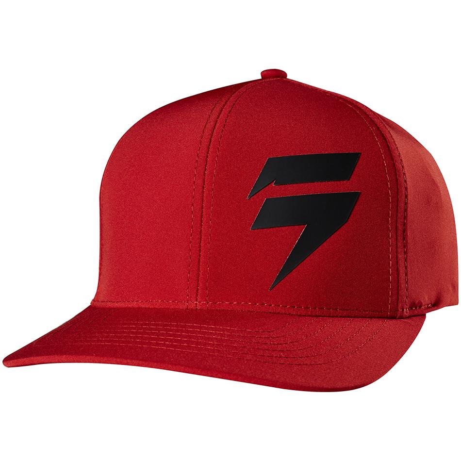 Shift - 2018 3Lue Label Flexfit бейсболка, темно-красная