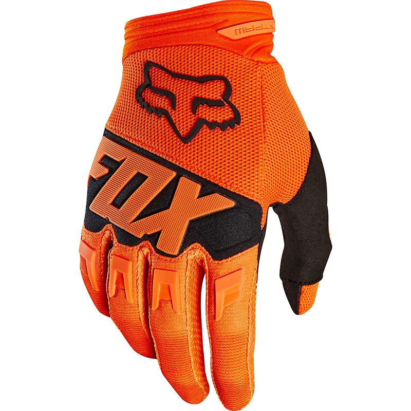Fox - 2018 Dirtpaw Race Youth Orange перчатки подростковые, оранжевые
