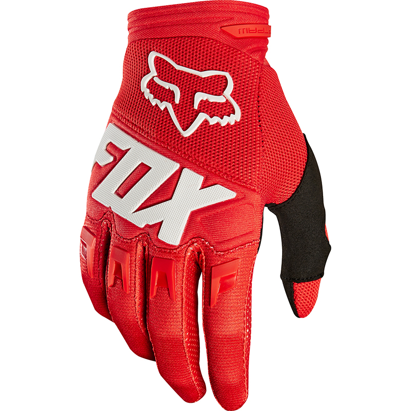 Fox - 2018 Dirtpaw Race Youth Red перчатки подростковые, красные