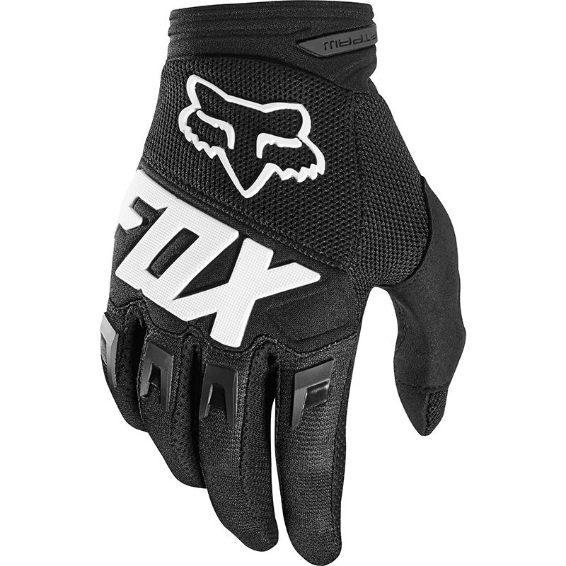 Fox - 2018 Dirtpaw Race Youth Black перчатки подростковые, черные