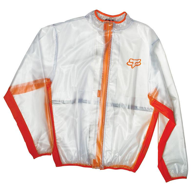 Fox - 2018 Fluid MX Jacket Orange дождевик, оранжевый