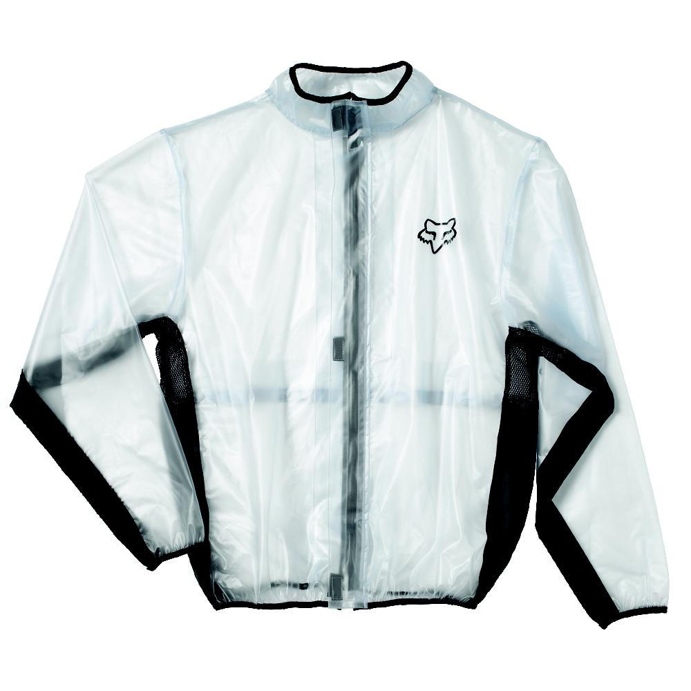 Fox - 2018 Fluid MX Jacket Black дождевик, черный