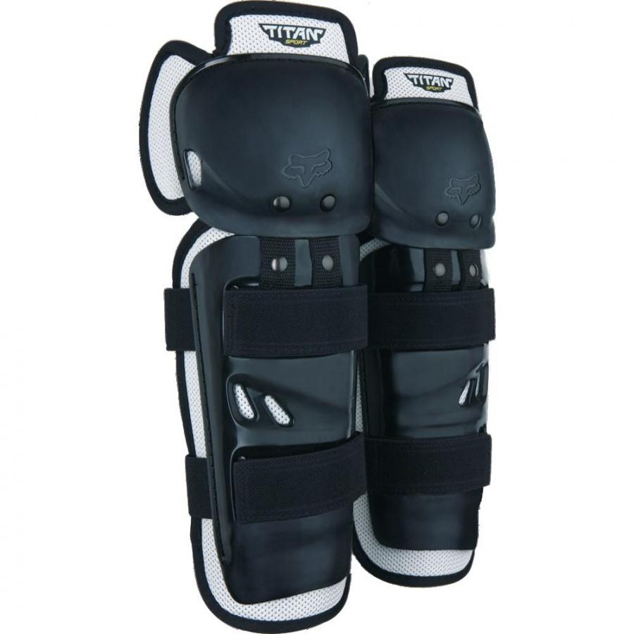 Fox - 2018 Titan Sport Knee CE Black защита колена и голени, черная