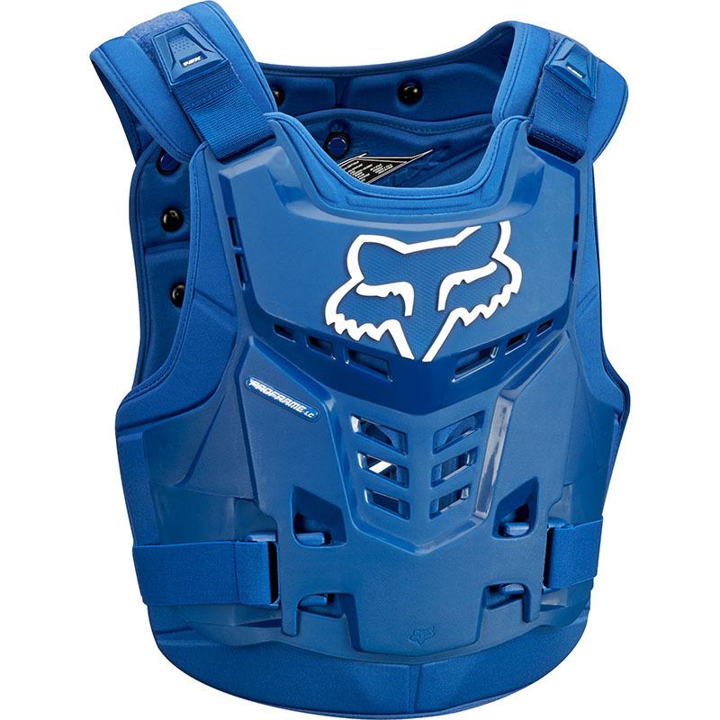 Fox - 2018 Proframe LC Roost Deflector CE Blue жилет защитный синий