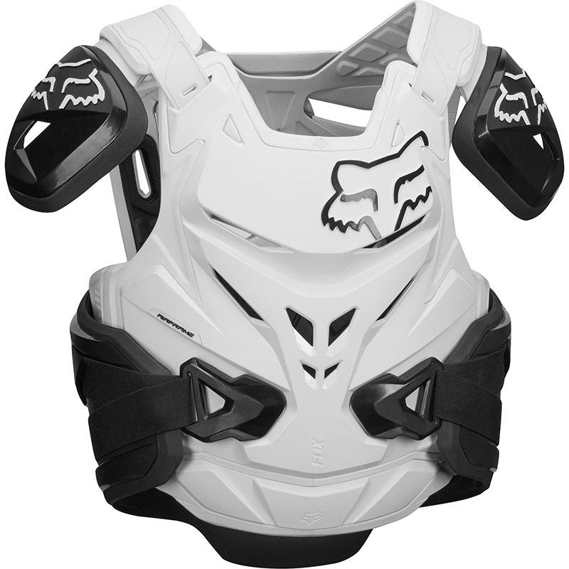Fox - 2018 Airframe Pro Jacket CE Black/White жилет защитный, черно-белый