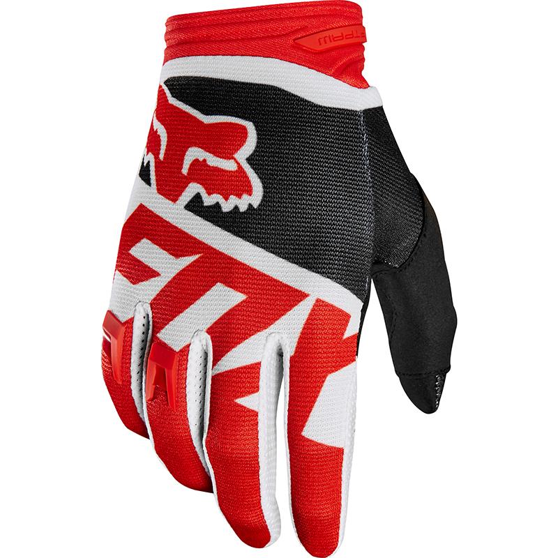 Fox - 2018 Dirtpaw Sayak Red перчатки, красные