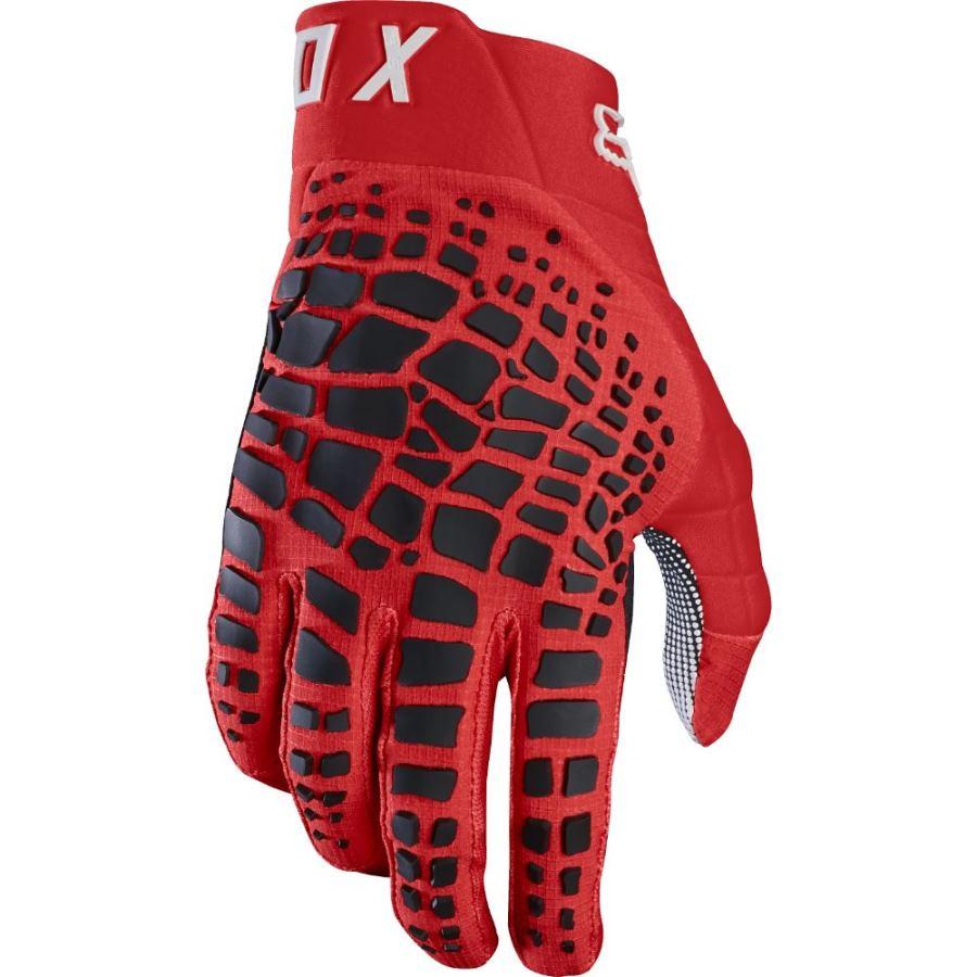 Fox - 2018 360 Grav Red перчатки, красные