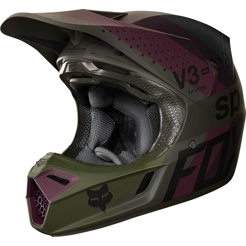 Fox - 2018 V3 Draftr Charcoal ECE шлем, темно-серый
