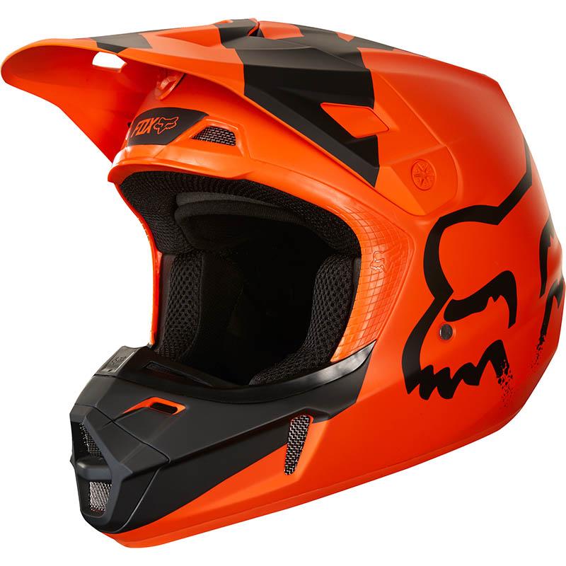Fox - 2018 V2 Mastar Orange ECE шлем, оранжевый