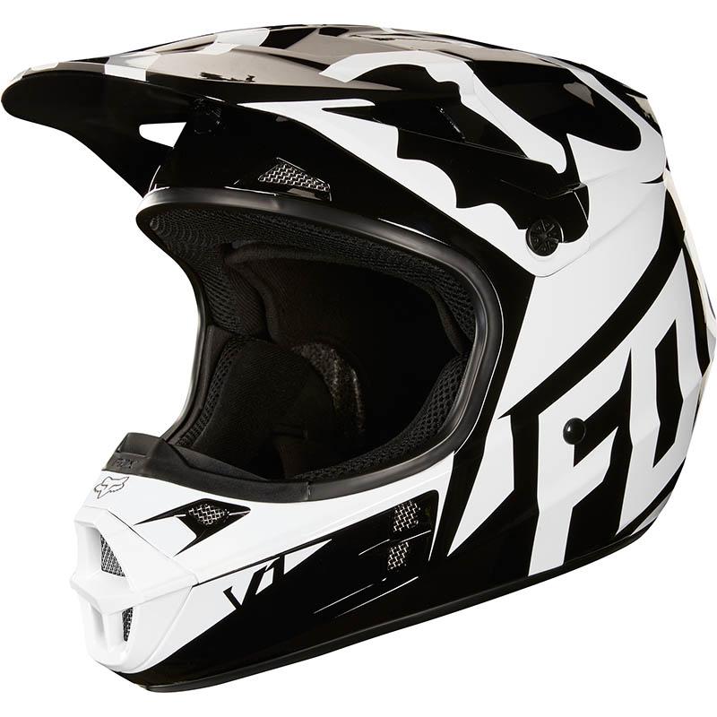 Fox - 2018 V1 Race Black ECE шлем, черный