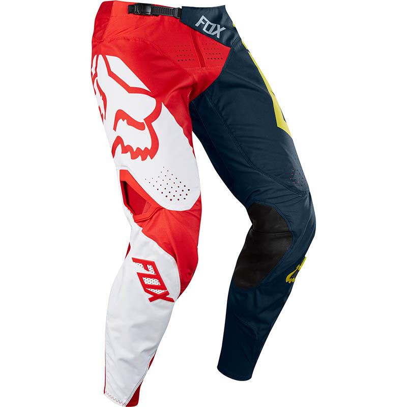 Fox - 2018 360 Preme Navy/Red штаны, сине-красные
