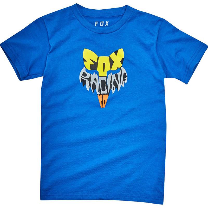 Fox - 2017 Kids Lyruh SS Tee True Blue футболка детская, синяя