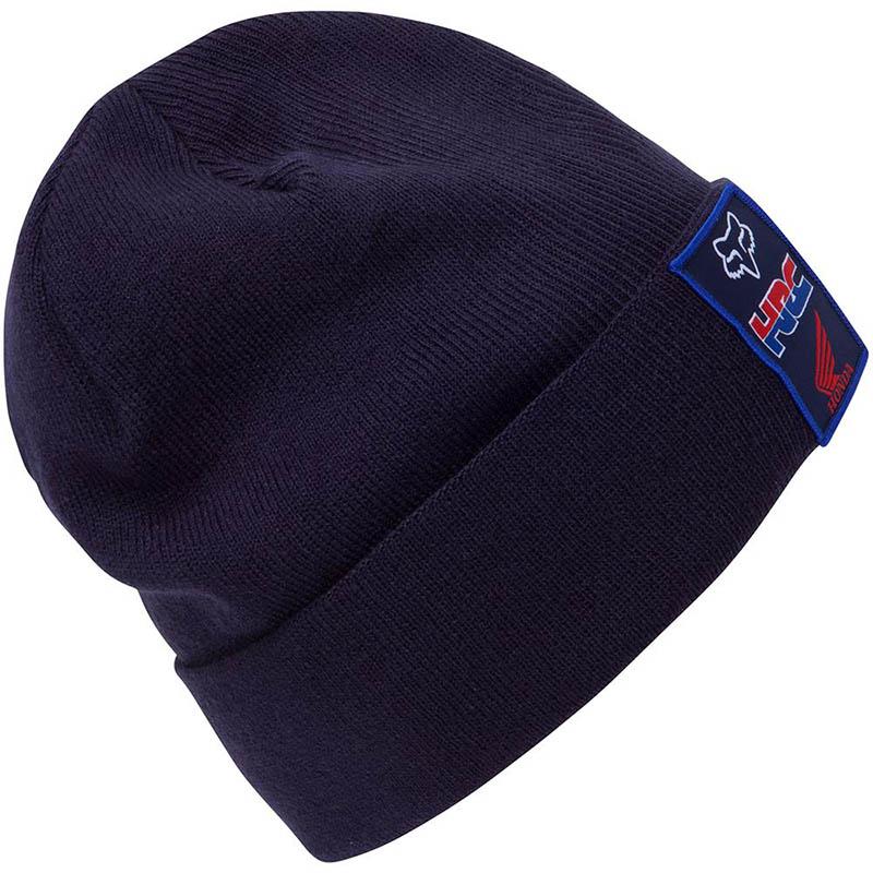 Fox - 2017 Pit HRC Roll Beanie Navy шапка, синяя
