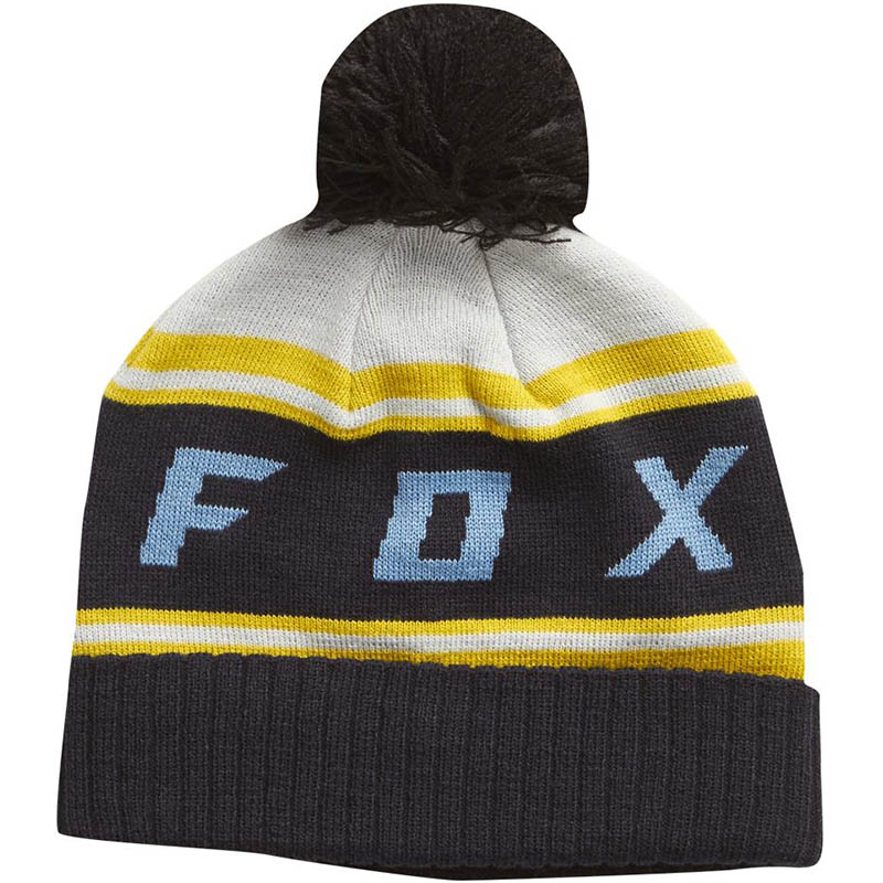 Fox - 2017 Black Diamond Pom Beanie Light Grey шапка, серая