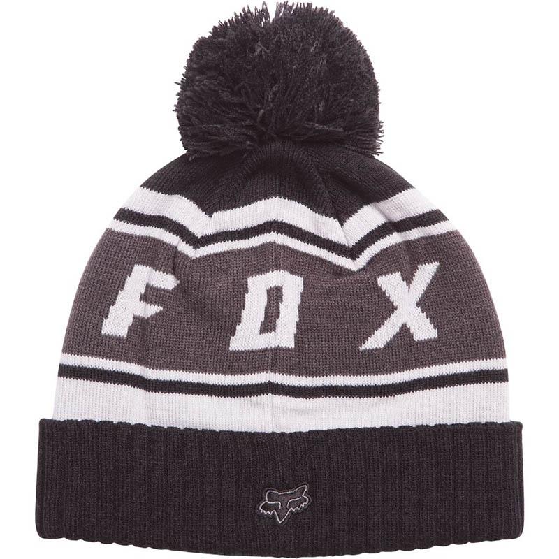 Fox - 2017 Black Diamond Pom Beanie Black шапка, черная