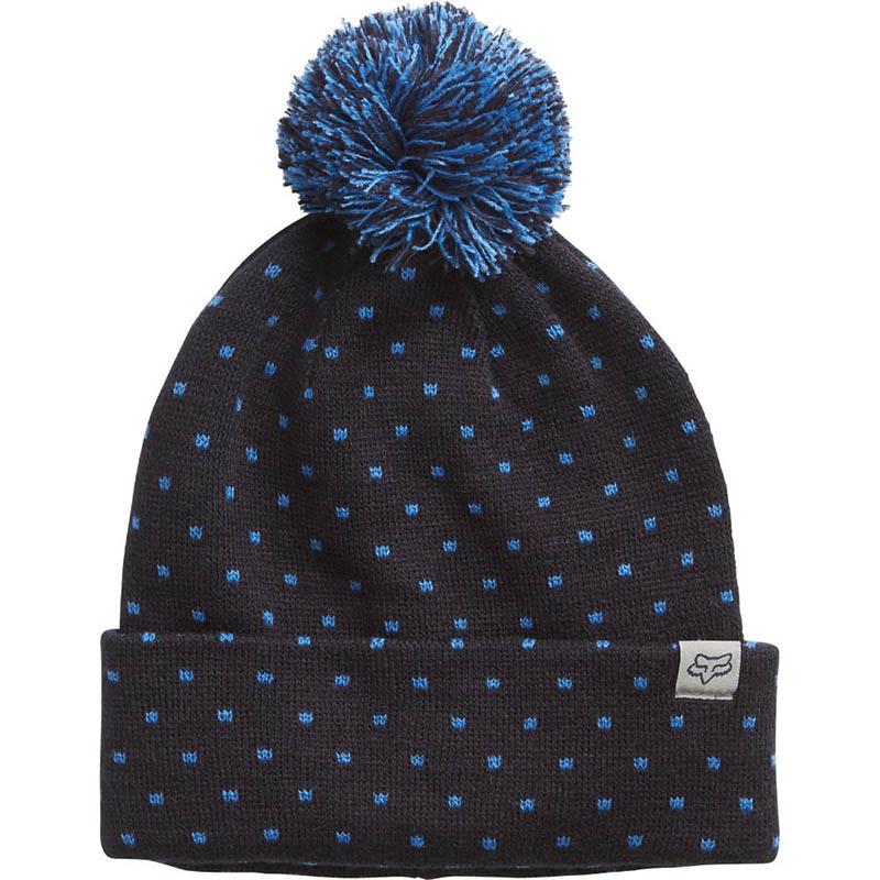 Fox - 2017 Snow Bunny Beanie Midnight шапка женская, синяя