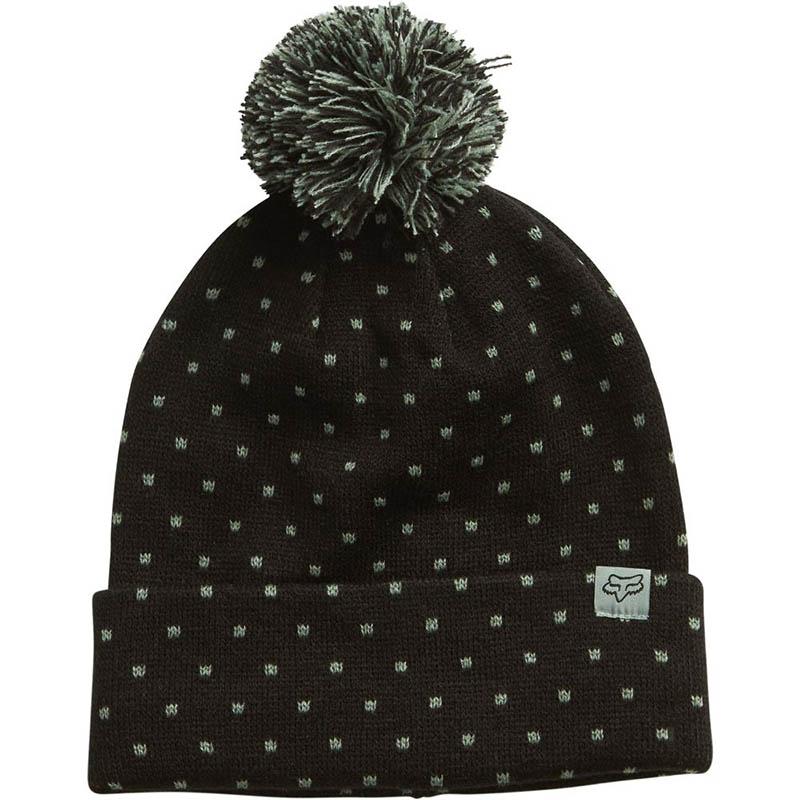 Fox - 2017 Snow Bunny Beanie Black шапка женская, черная