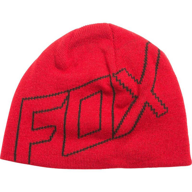 Fox - 2017 Ride Beanie Dark Red шапка, красная