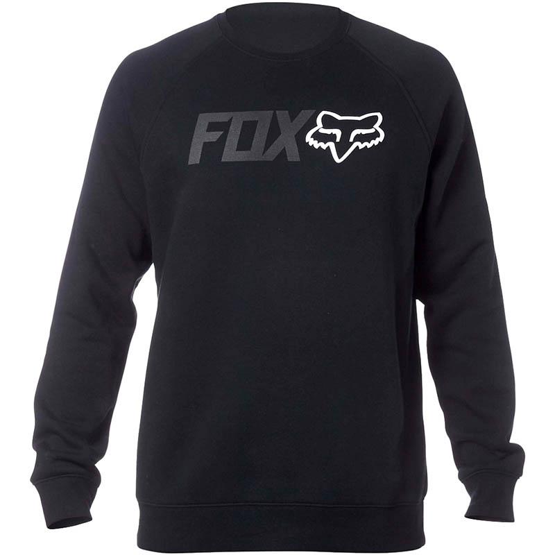 Fox - 2017 Legacy Crew Fleece Black свитшот, черный