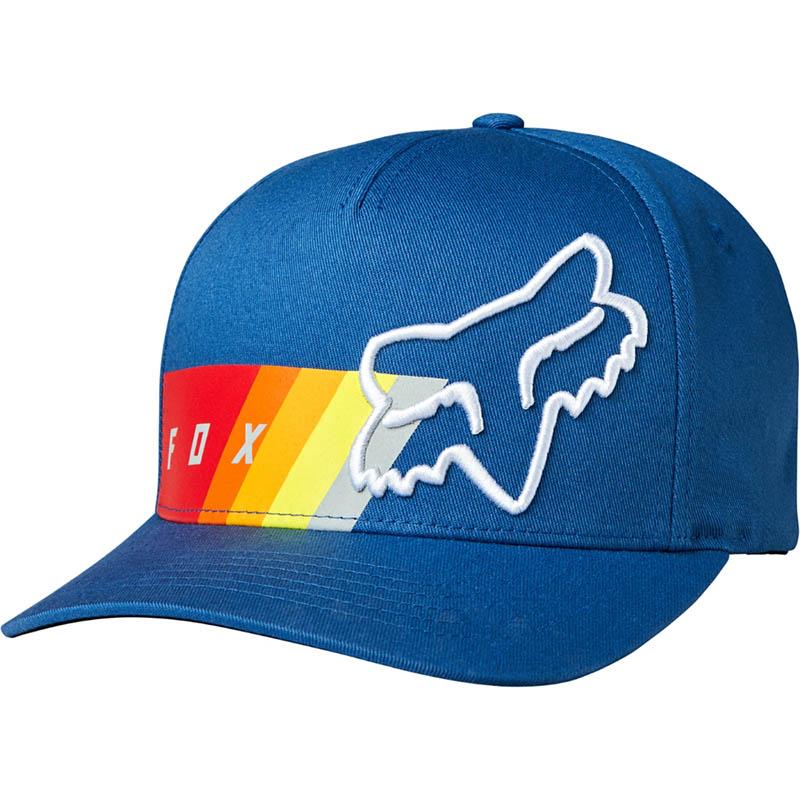 Fox - 2017 Draftr Flexfit Blue бейсболка, синяя