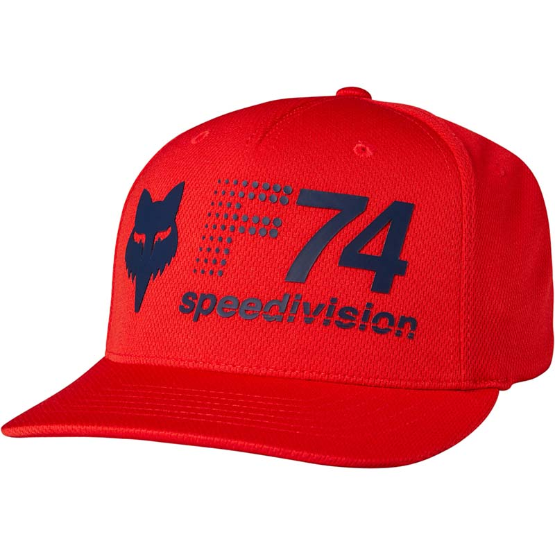 Fox - 2017 Vintage 74 Flexfit Red бейсболка, красная