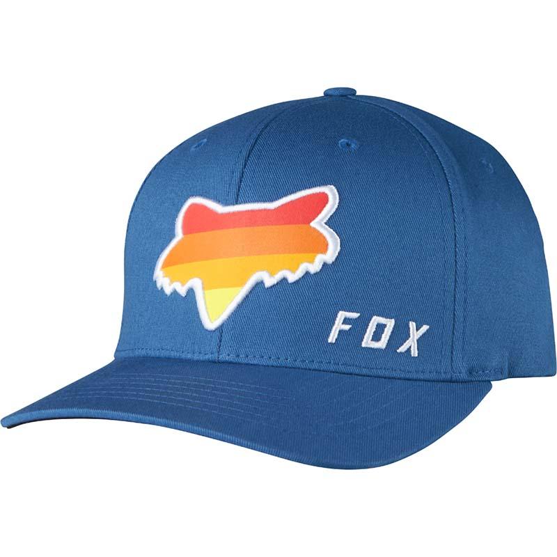 Fox - 2017 Draftr Head Flexfit Blue бейсболка, синяя