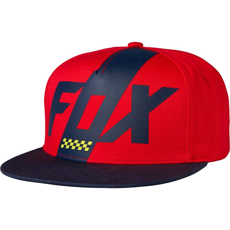 Fox - 2017 Scalene Snapback Red бейсболка, красная
