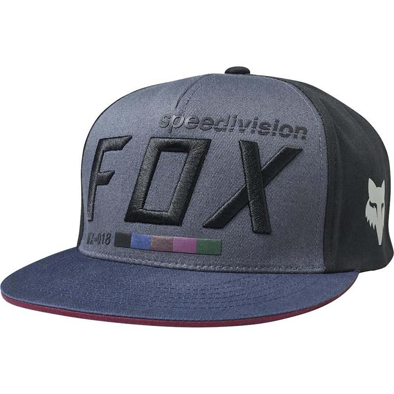 Fox - 2017 Draftr Snapback Black бейсболка, черная