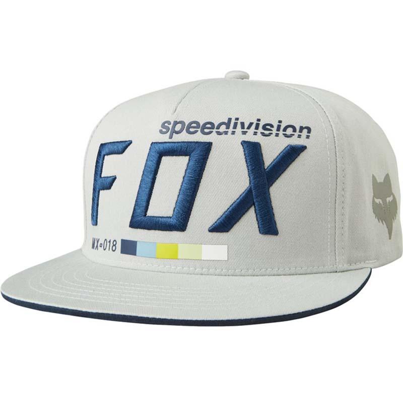 Fox - 2017 Draftr Snapback Grey бейсболка, серая