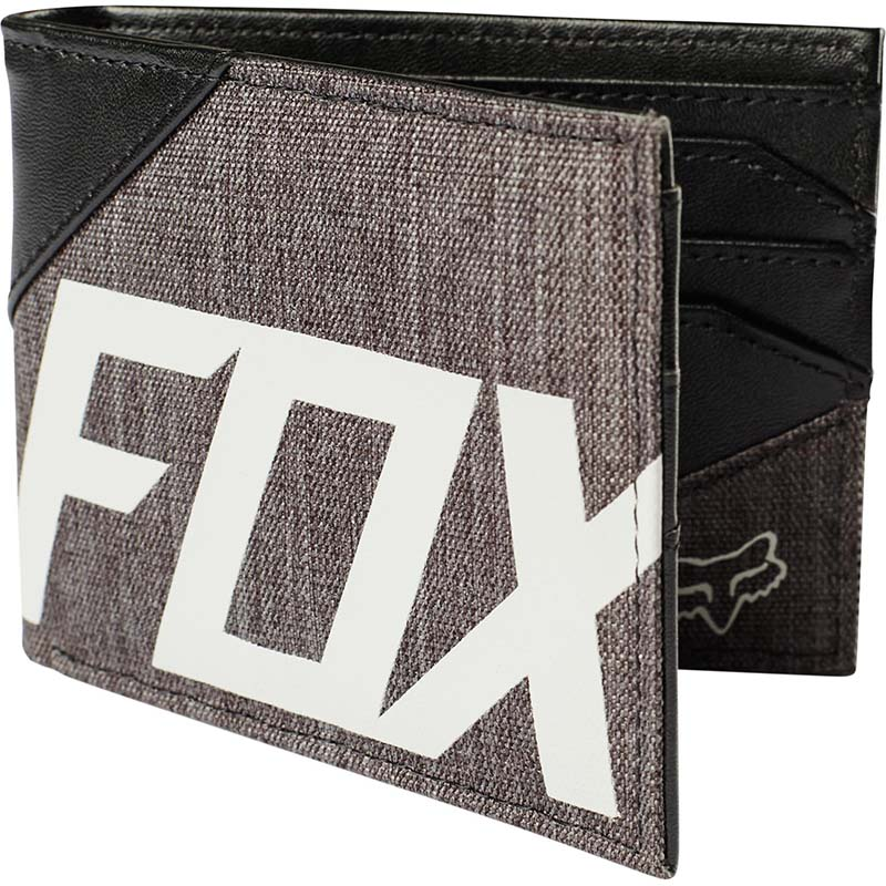 Fox - 2017 Sidecar Mixed Pu Wallet Heather Black кошелек, черная