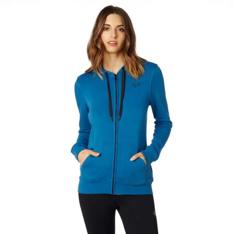 Fox - 2017 Affirmed Zip Fleece Dust Blue толстовка женская, синяя