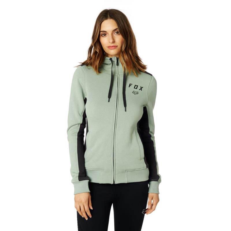 Fox - 2017 Outbound Sherpa Zip Fleece Sage толстовка женская, зеленая