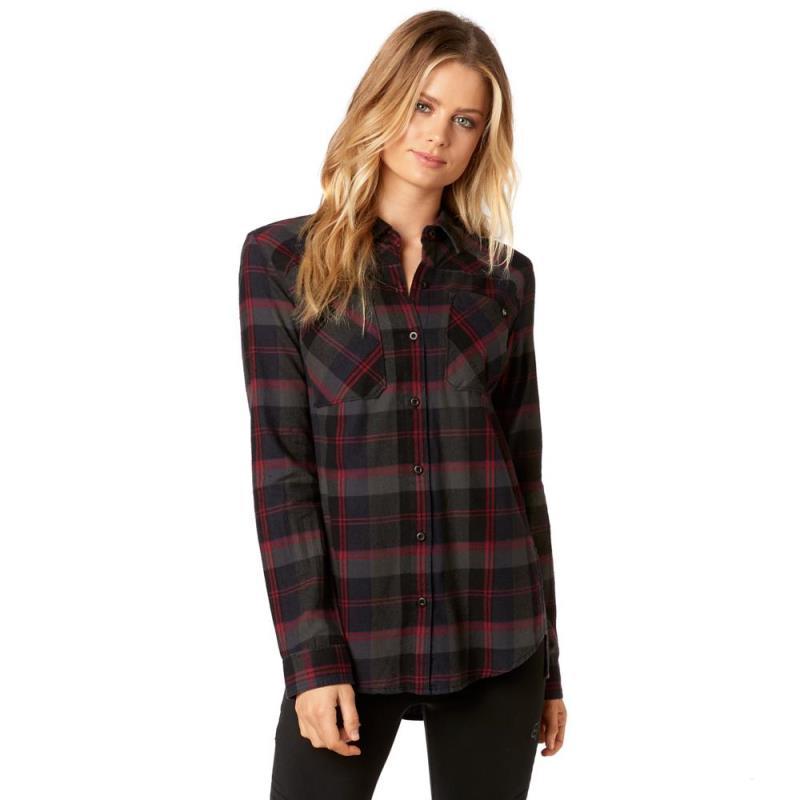 Fox - 2017 Flown Flannel Midnight рубашка женская, синяя