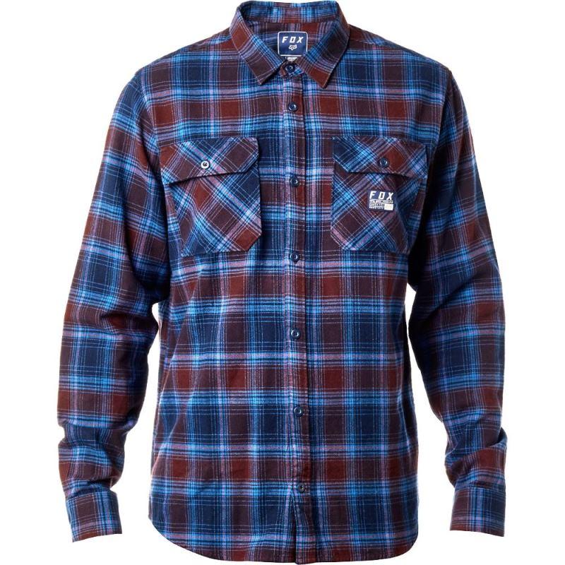 Fox - 2017 Traildust Flannel Midnight рубашка, синяя