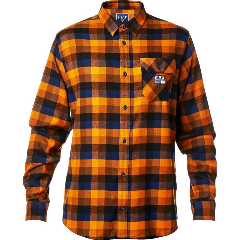 Fox - 2017 Rovar Flannel Orange рубашка, оранжевая