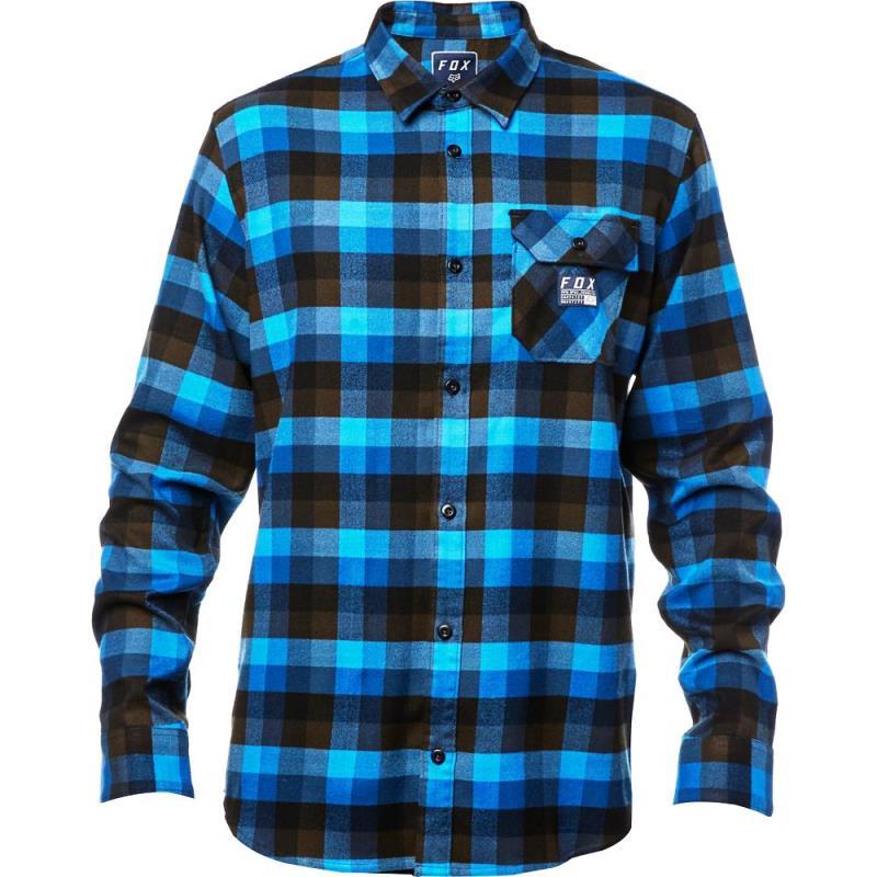 Fox - 2017 Rovar Flannel Dust Blue рубашка, синяя