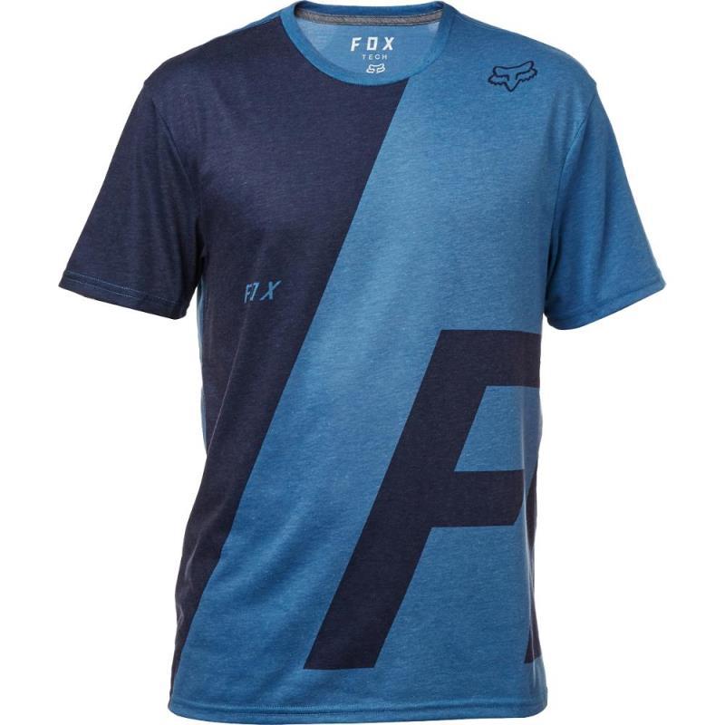 Fox - 2017 Inverter SS Tech Tee Heather Blue футболка, синяя