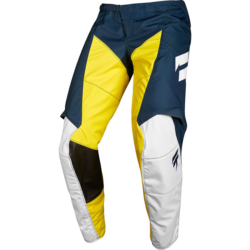 Shift - 2018 Whit3 Label GP Limited Edition Navy/Yellow штаны, сине-желтые
