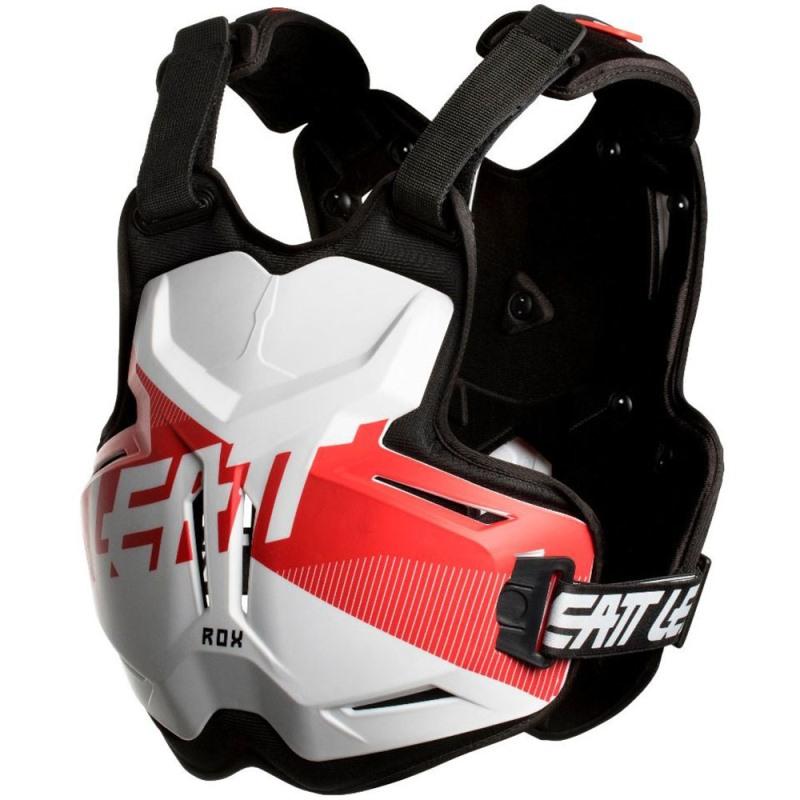 Leatt - 2018 Chest Protector 2.5 ROX White/Red защитный жилет, бело-красный