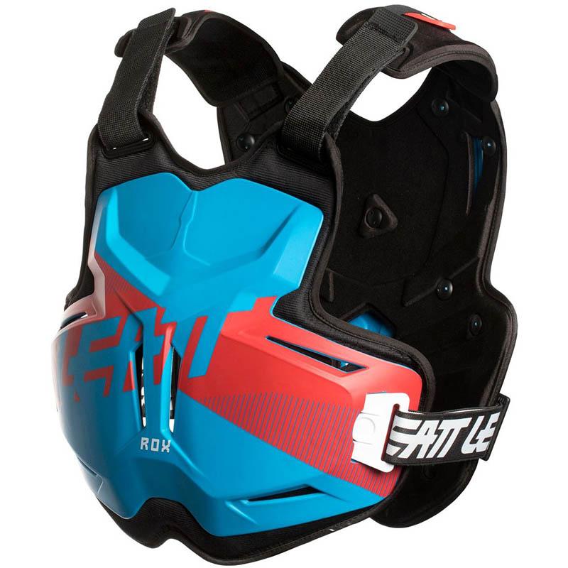 Leatt - 2018 Chest Protector 2.5 ROX Blue/Red защитный жилет, сине-красный