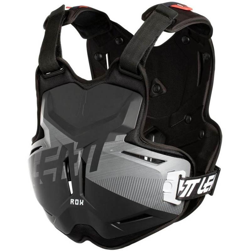 Leatt - 2018 Chest Protector 2.5 ROX Black/Brushed защитный жилет, черный