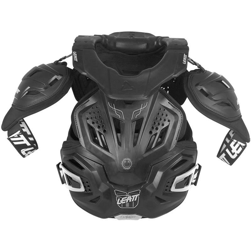 Leatt - 2018 Fusion Vest 3.0 Black защитный жилет, черный