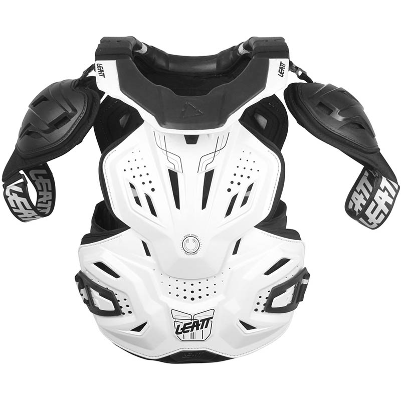 Leatt - 2018 Fusion Vest 3.0 White защитный жилет, белый
