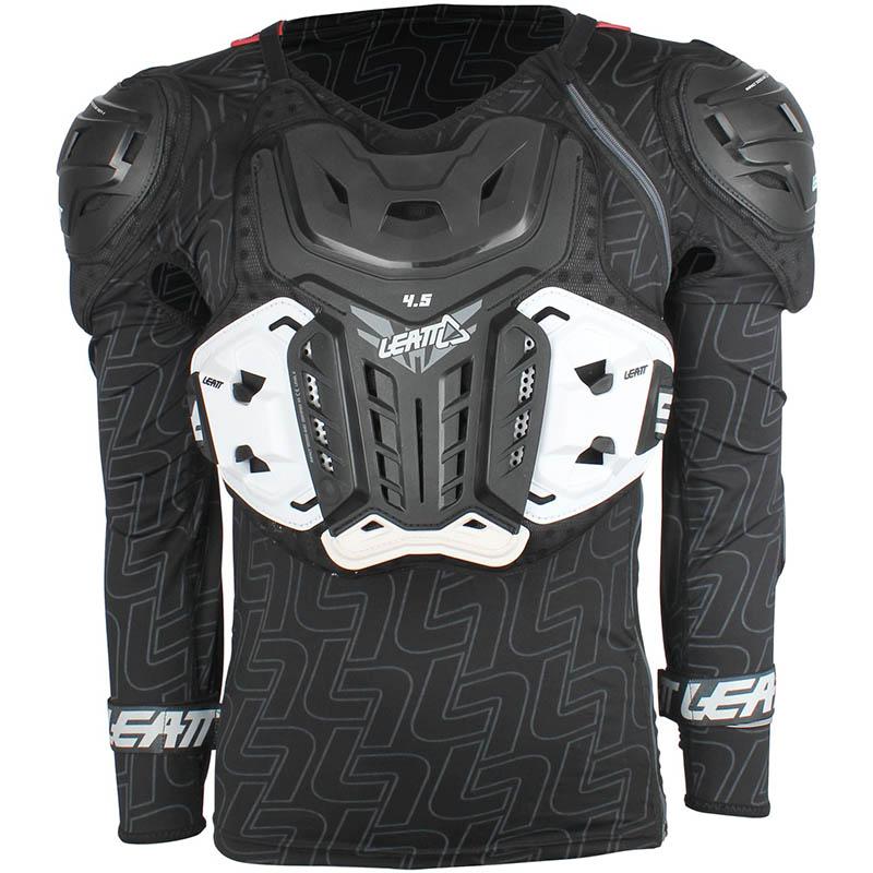 Leatt - 2018 Body Protector 4.5 Black защитный жилет, черный