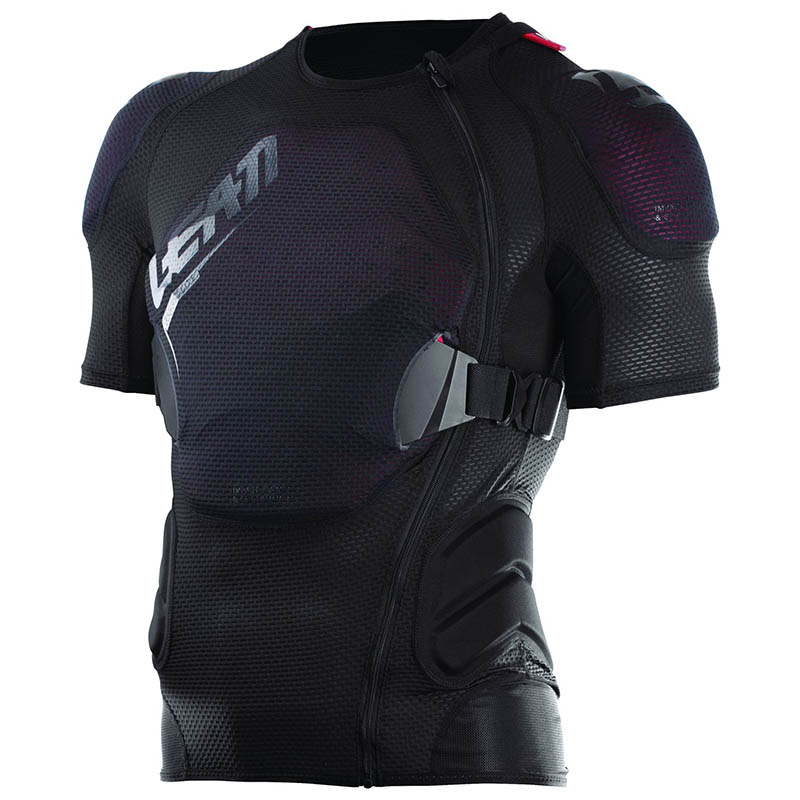 Leatt - 2018 Body Tee 3DF AirFit Lite Black защитный жилет, черный