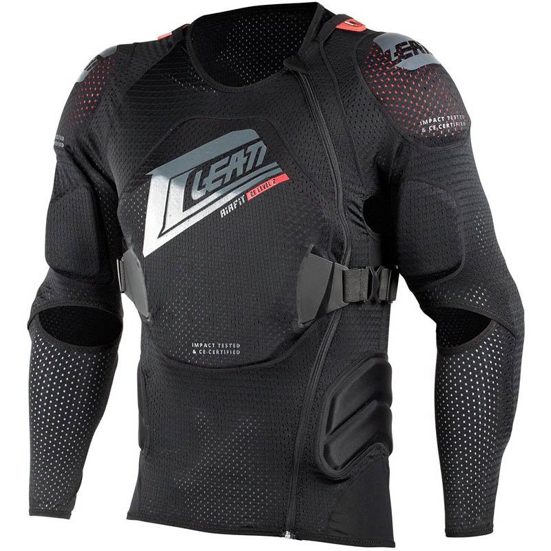 Leatt - 2018 Body Protector 3DF AirFit Black защитный жилет, черный