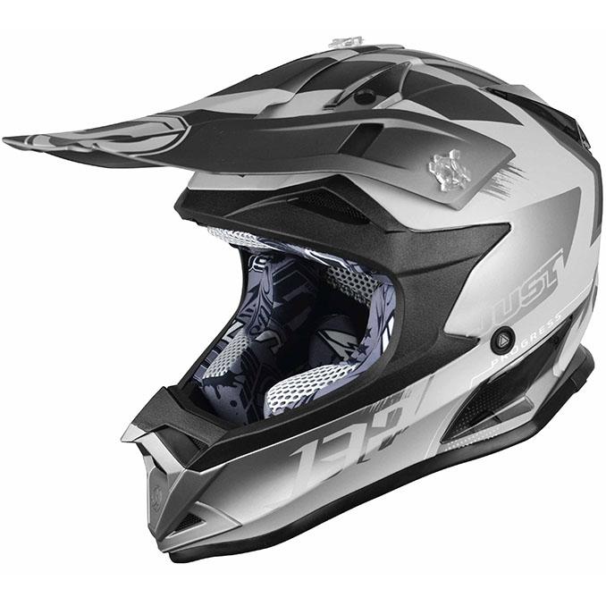 Just1 - J32 Pro Kick Titanium шлем, титановый матовый